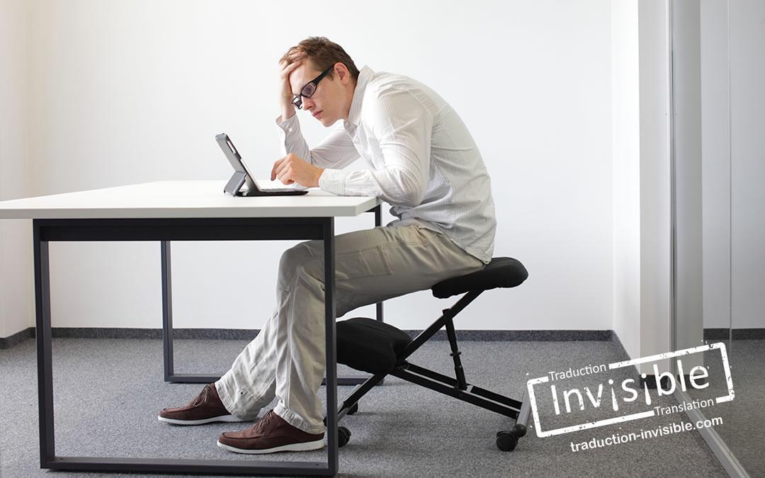 Vers un espace de travail plus ergonomique